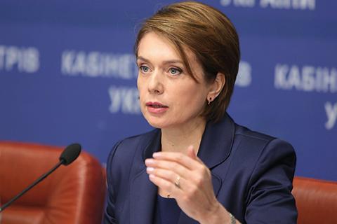Стало известно, сколько заработала в январе министр Гриневич и ее заместители