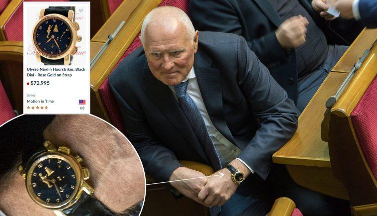 Нардеп Леонид Климов засветил в парламенте элитные часы за 2 миллиона гривен