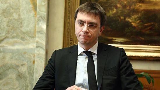 Дело министра Владимира Омеляна передали в суд
