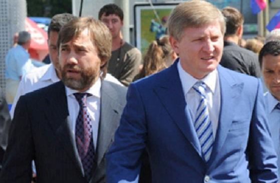 Новинский сыграл против Ахметова