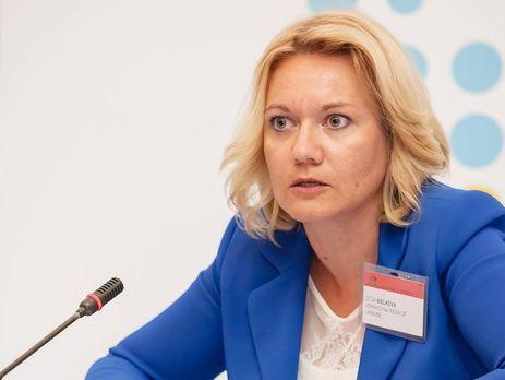 Нардеп Ольга Белькова засветила в Раде брендовую сумку стоимостью более 26 тысяч