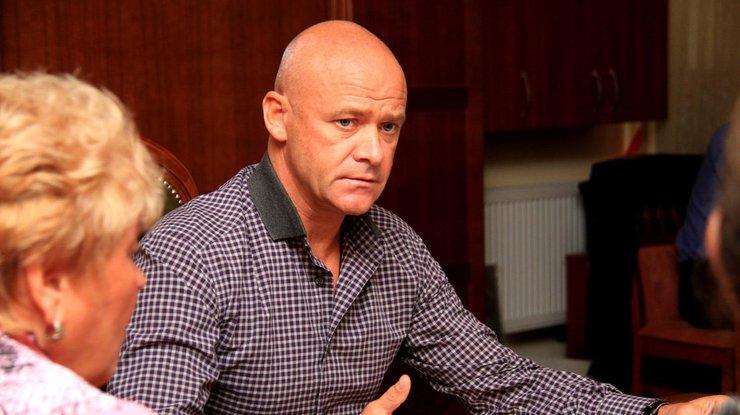 Холодницкий вручил подозрение мэру Одессы Труханову