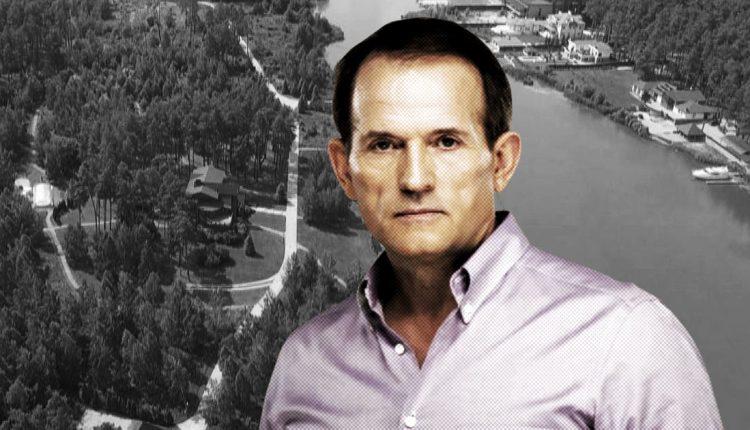 Виктор Медведчук продает элитное имение под Киевом