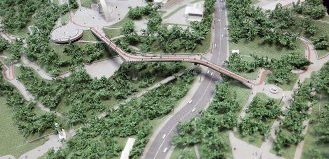 "На ""мост Кличко"" в центре Киева уже потратили 12 млн гривен"