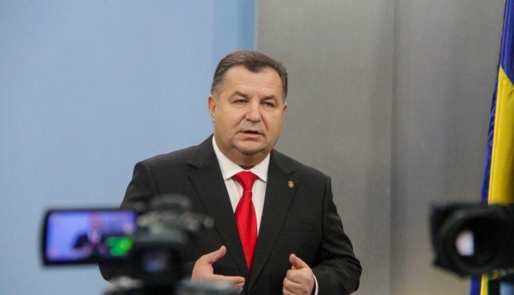 Министр Степан Полторак заработал в марте больше 81 тысячи гривен