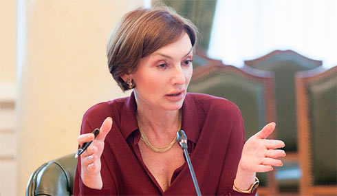 Замглавы Нацбанка Рожкова заработала в марте 431 тысячу гривен