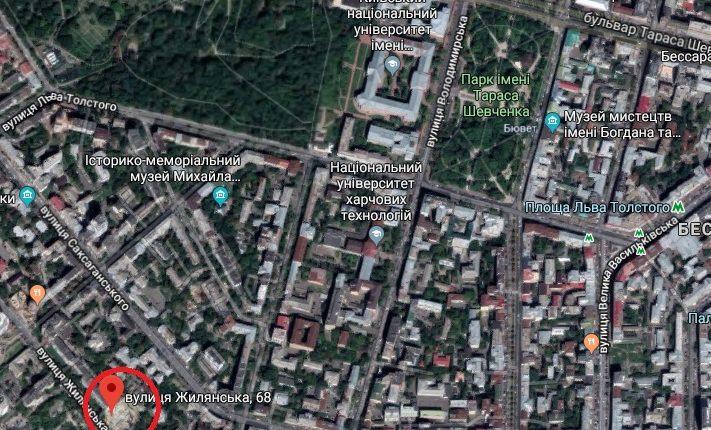 ГБР взялось за жилой комплекс Кивана Аднана на Жилянской