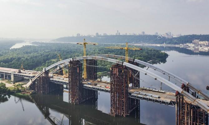 На строительство Подольского моста в столице выделили 630 тысяч