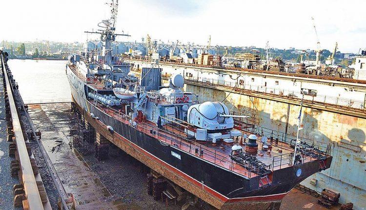 Украинские судоверфи на 32% увеличили производство