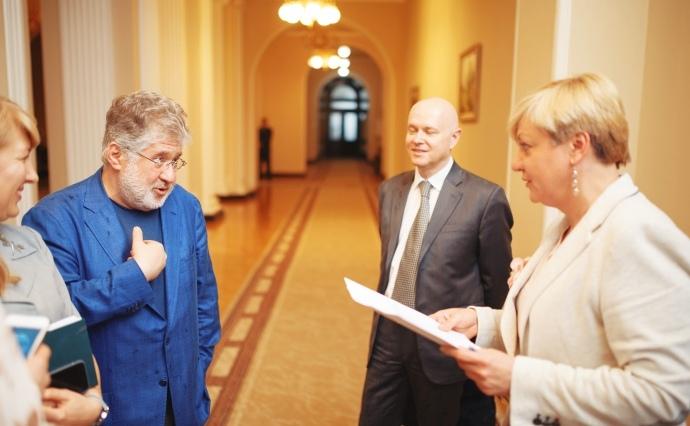 Гонтарева заявила о постоянных угрозах Коломойского