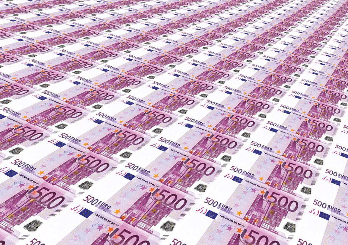Картинки евро денег