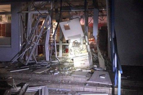 В Харькове ночью взорвали банкомат