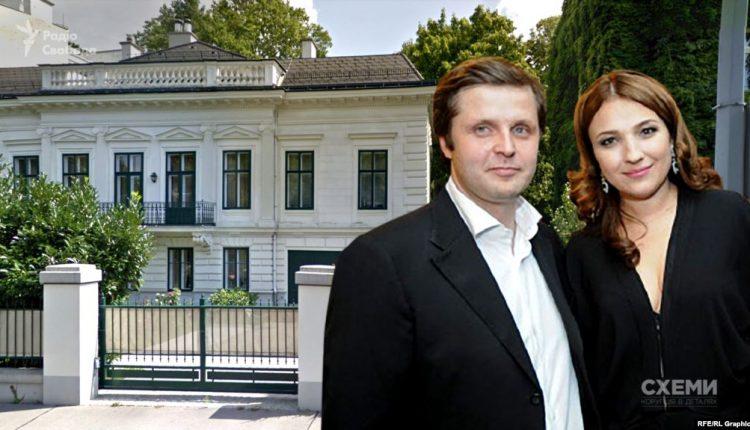 """Кандидат от """"Слуги народа"""" Андрей Холодов имеет в Вене особняк стоимостью 6 млн евро"""