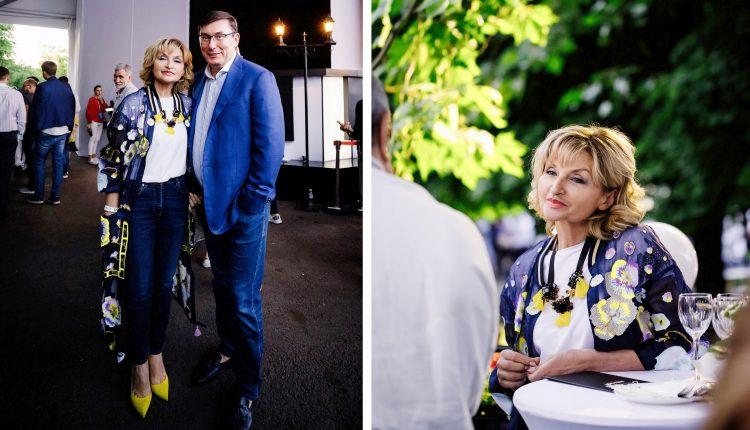Ирина Луценко носит накидку стоимостью 128 тысяч гривен
