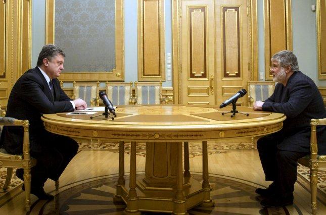 Коломойский начал встречаться с Порошенко