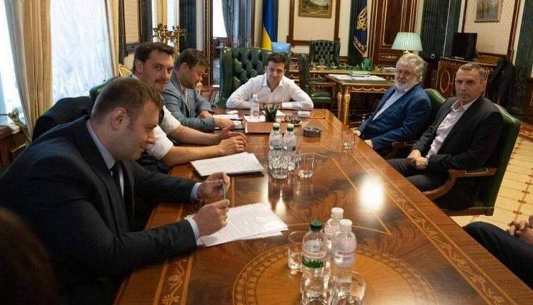 """Зеленский и Коломойский ищут компромисс по """"Приватбанку"""" – Гончарук"""