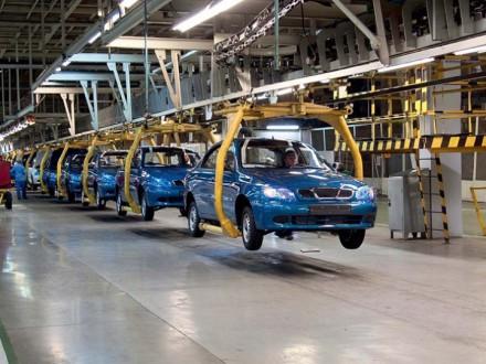 Автопроизводство в Украине отстает от уровня минувшего года