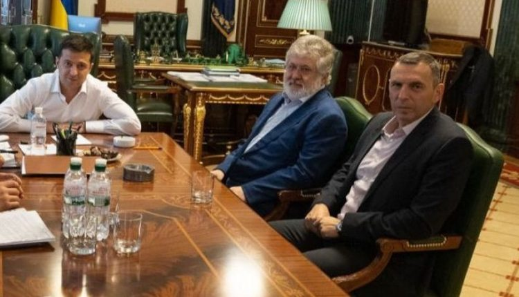 Зеленский заявлял, что не боится обидеть Коломойского