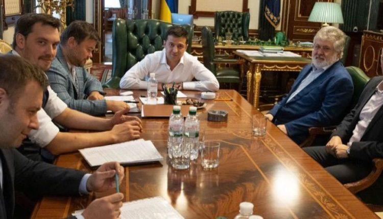 """Зеленский заверил эстонцев, что """"Коломойский не является президентом Украины"""""""