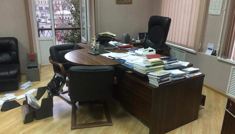 В центре Киева ограбили офис Национального союза журналистов
