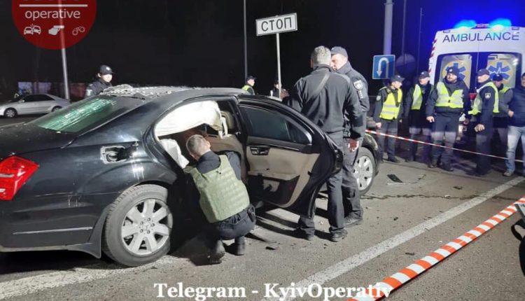 Под Киевом подорвали авто бизнесмена Игоря Сало