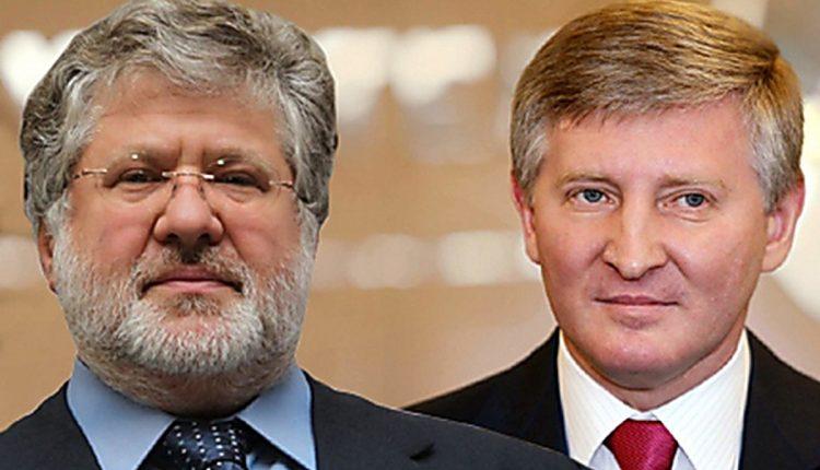 Коломойский и Ахметов признаны самыми влиятельными олигархами Украины