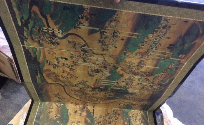 СБУ перехватила в Киеве контрабанду японского антиквариата на $300 тысяч