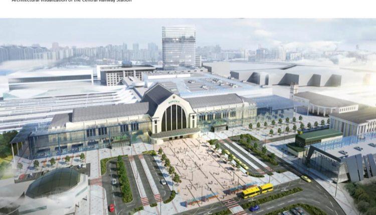 Главный вокзал Киева превратят в торгово-развлекательный центр