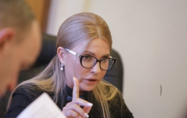 Тимошенко призвала менять всю некомпетентную власть