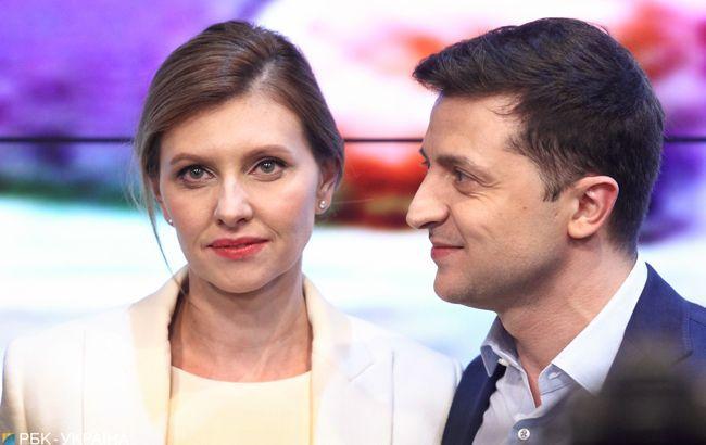 Зеленский направил свою супругу по следам жены Порошенко