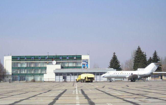СБУ проводит обыски в аэропорту Запорожья