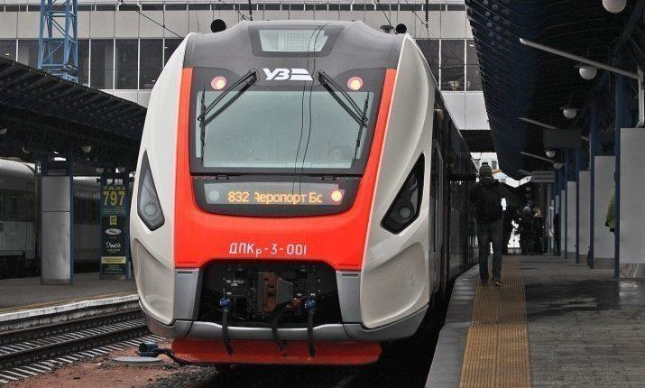 Новый поезд Бориспольского экспресса сломался на полпути