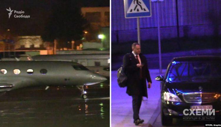 Ермак прилетел из Минска частным самолетом, которым пользуется Пинчук, и не заплатил за это
