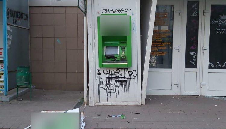 В Харькове взорвали банкомат, а в Броварах – отделение банка