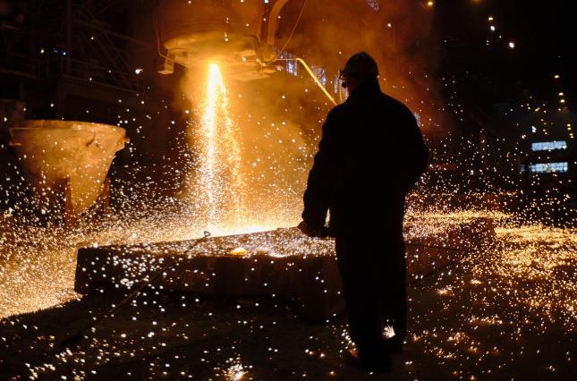 В марте выплавка стали в Украине уменьшилась на 9%