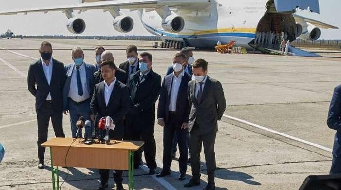 """В Офисе президента рассказали, почему Зеленский встречал """"Мрию"""", оплаченную """"Эпицентром"""""""