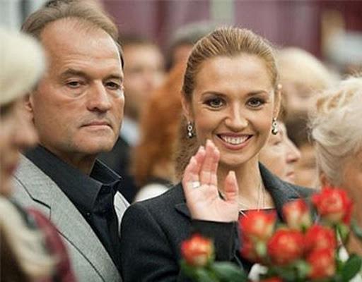 Коломойский оказался партнером жены Медведчука