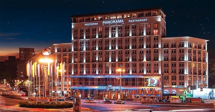 """Киевский отель """"Дніпро"""" продали на аукционе за 1,1 млрд компании из Броваров"""