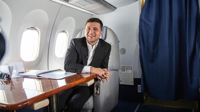 Авиаперелеты Зеленского обошлись налогоплательщикам почти в 14 млн
