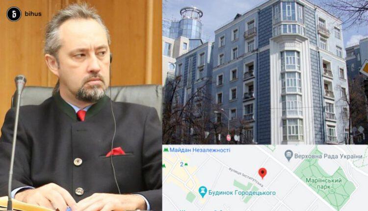 Судья КС Слиденко два года не декларировал недвижимость