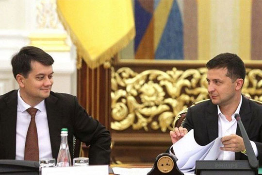 Как вариант: Разумков посоветовал Зеленскому наложить вето на закон об олигархах