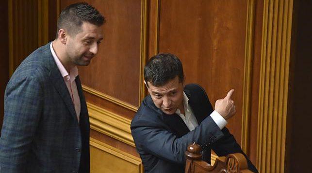 "Михаил Ткач: ""Господин президент, к Вам товарищ Арахамия!"""